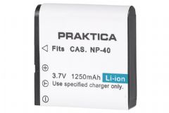 PRAKTICA NP-40 Lithium-Ion Battery 1250mAh for Z150 Camcorder